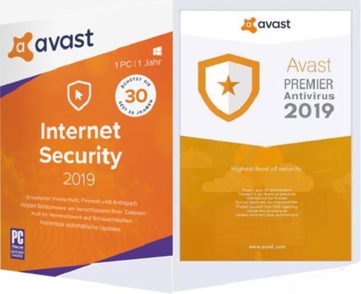 avast! Internet Security / Premier Antivirus 19 3 2369