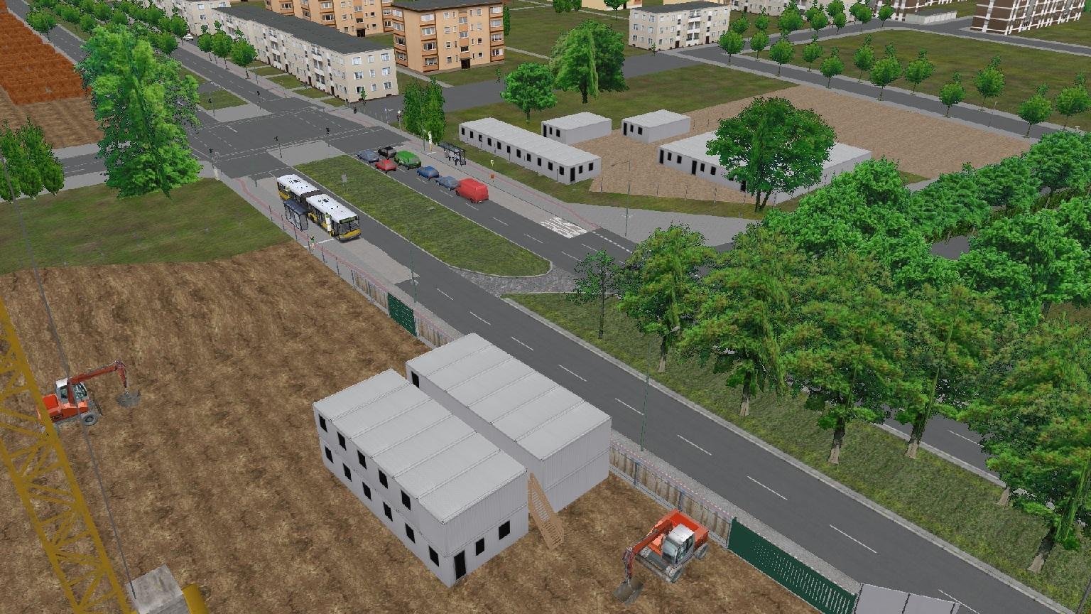 (WIP) Berlin Spandau Real Linien 136 236 & X36 News Update ...