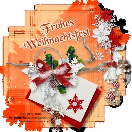 Frohe Weihnachtenbrief