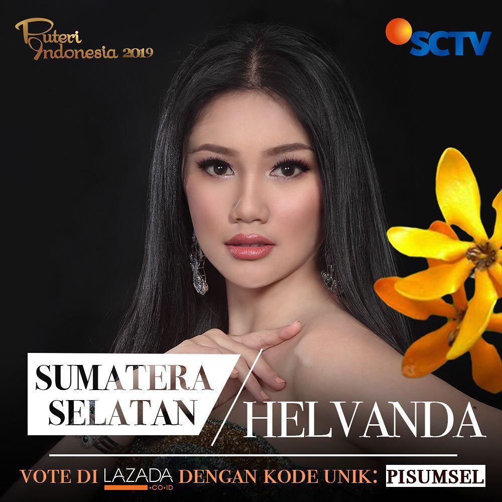 candidatas a puteri indonesia 2019. final: 8 marso. K3l8loec