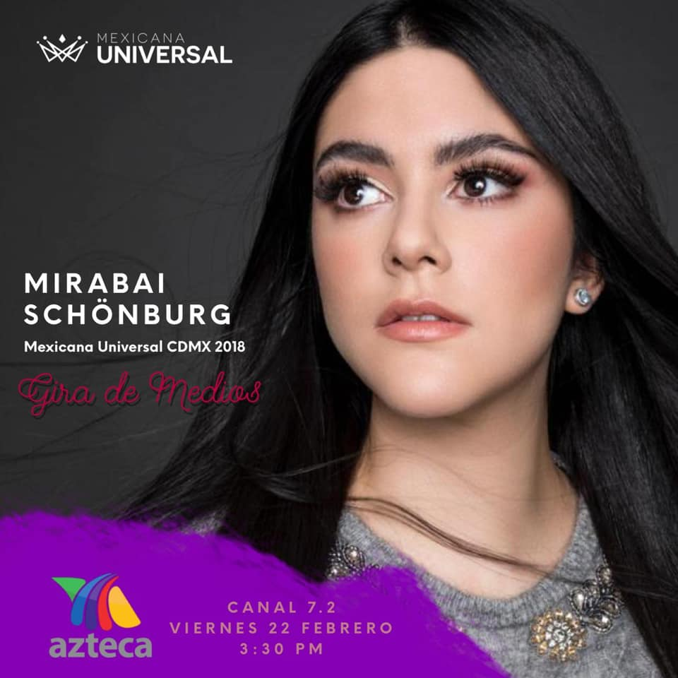 candidatas a mexicana universal 2019. final: 31 may. - Página 3 Cacnpe34
