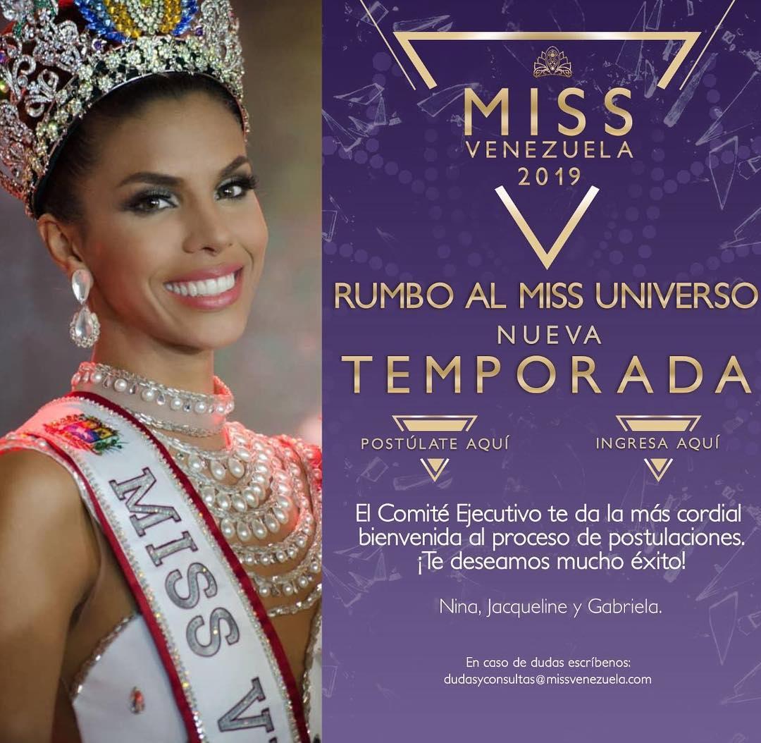 ARRANCA EL MISS VENEZUELA- Revelan detalles para elegir a nuestra representante en el Miss Universo 2019  Buihmkk4