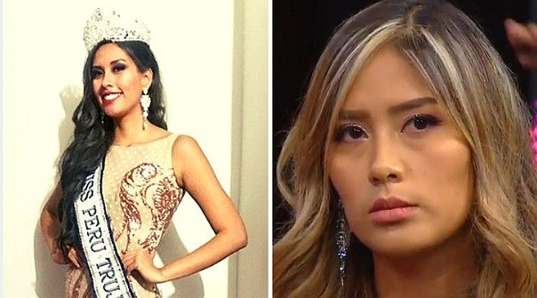 Claudia Meza pierde la corona de Miss Trujillo 2019 Hts74tvb