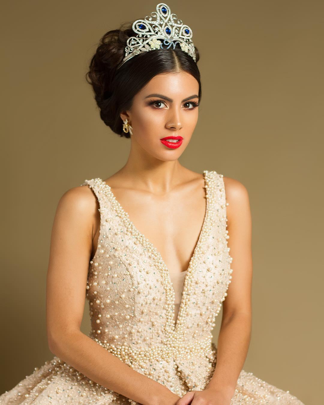 Adriana Paniagua con nostalgia porque ya no tiene la corona de Miss Nicaragua Ikkvm3j6