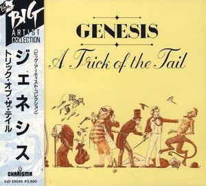Genesis – A Trick Of The Tail (Japanese Edition)