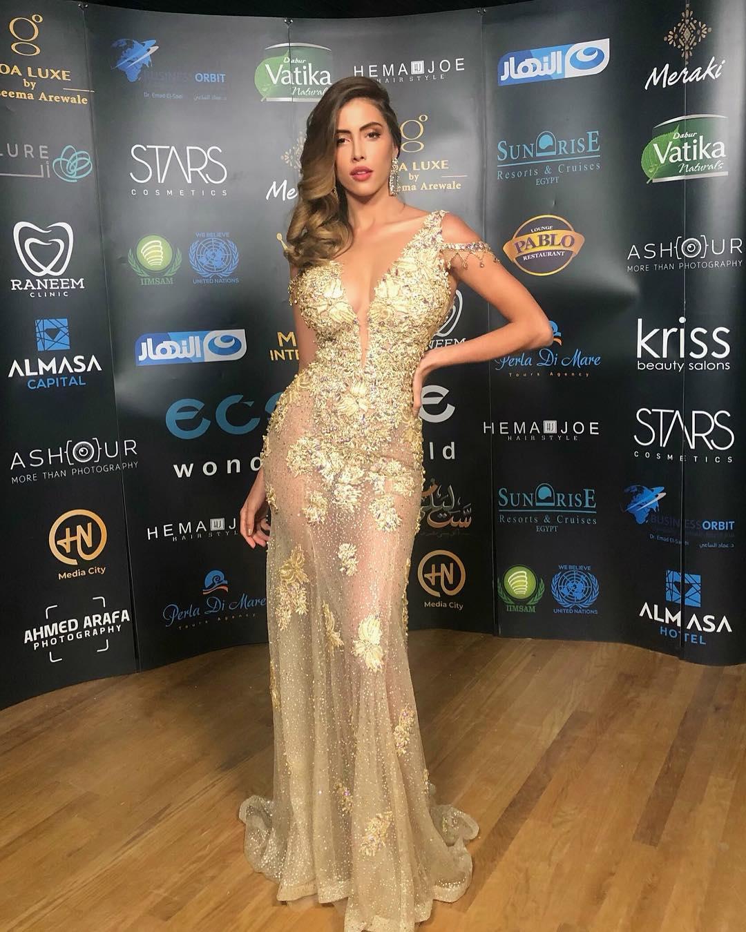 miss costa rica, top 10 de miss universe 2018 e vencedora de miss eco universe 2016 (haora miss eco international), em egypt, junto a candidatas a miss eco international 2019. Uqsr8j8s