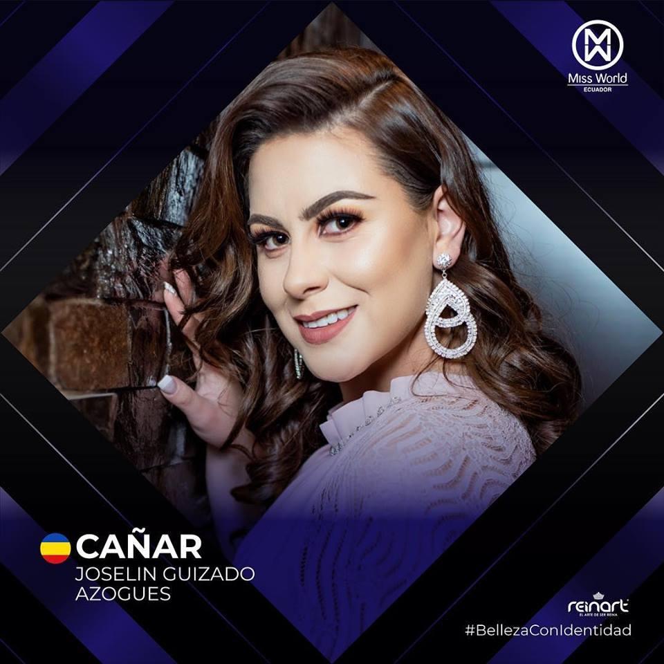 candidatas a miss world ecuador 2019. final: 27 de abril. 6757dxyj