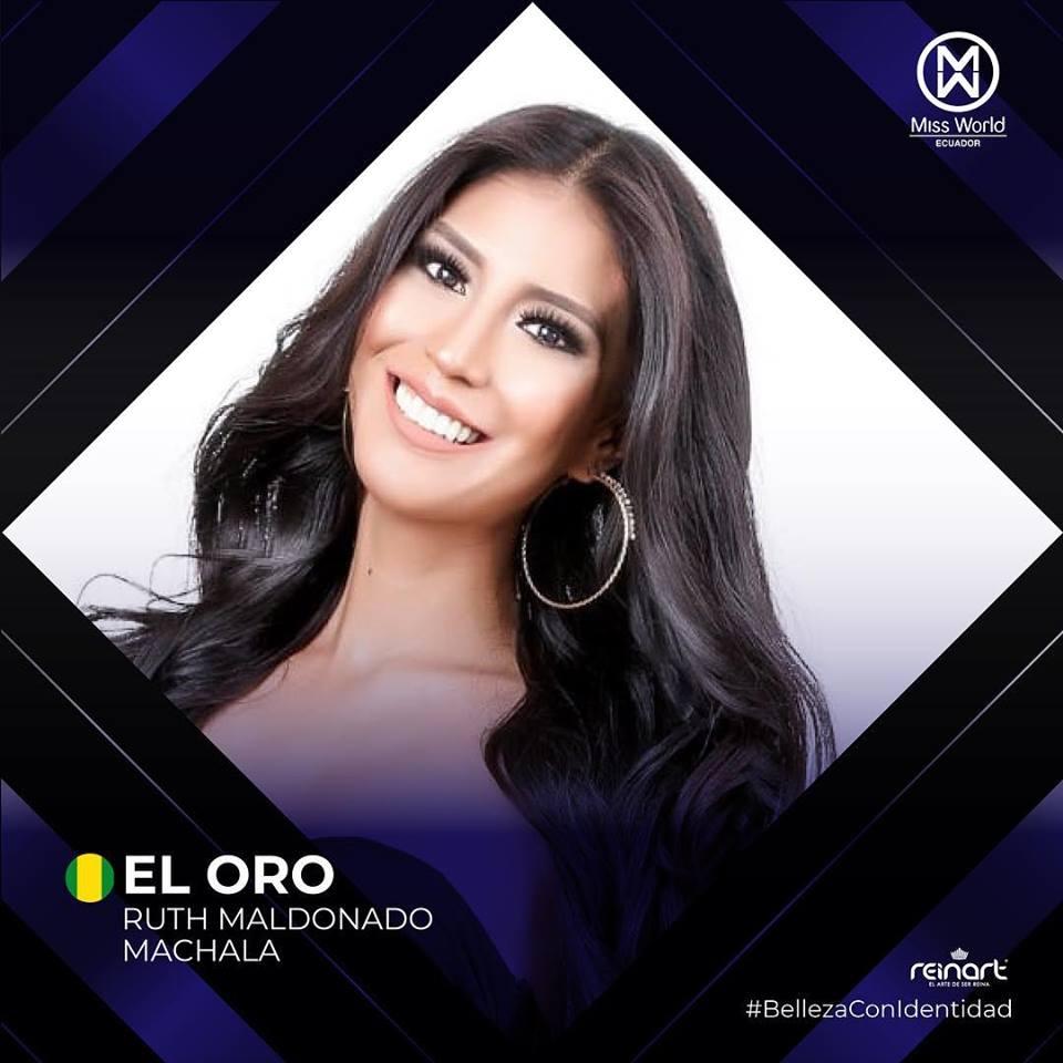candidatas a miss world ecuador 2019. final: 27 de abril. Apbaacic