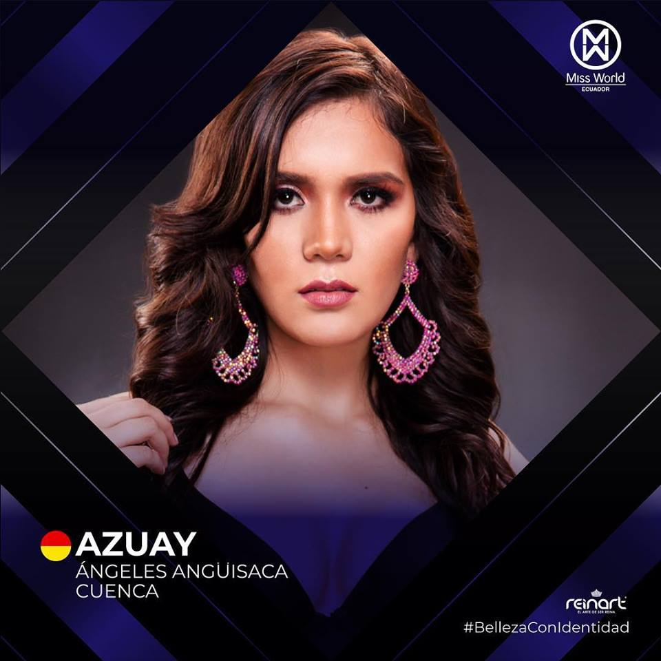 candidatas a miss world ecuador 2019. final: 27 de abril. L2gxqmz4