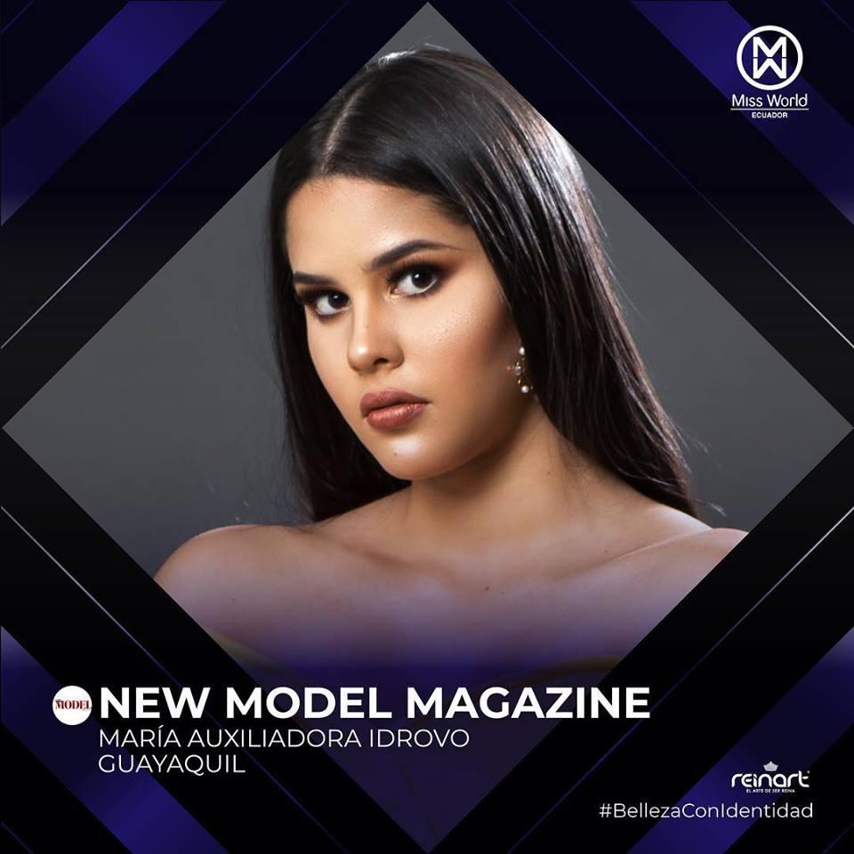 candidatas a miss world ecuador 2019. final: 27 de abril. - Página 2 O46leils