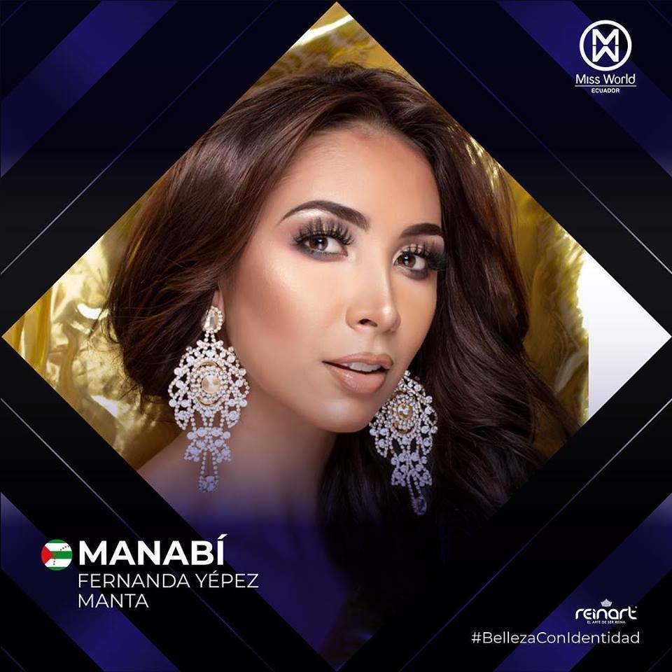 candidatas a miss world ecuador 2019. final: 27 de abril. U43clrpk