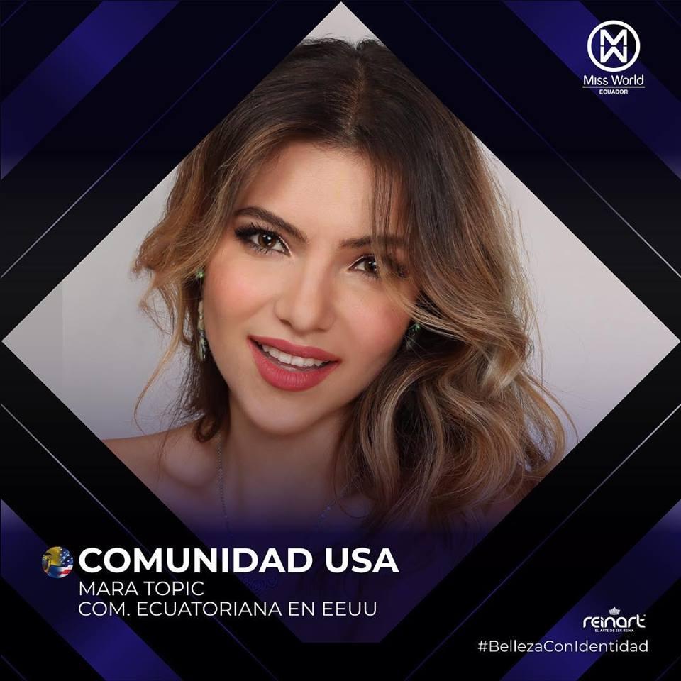 candidatas a miss world ecuador 2019. final: 27 de abril. Zqd9drdj