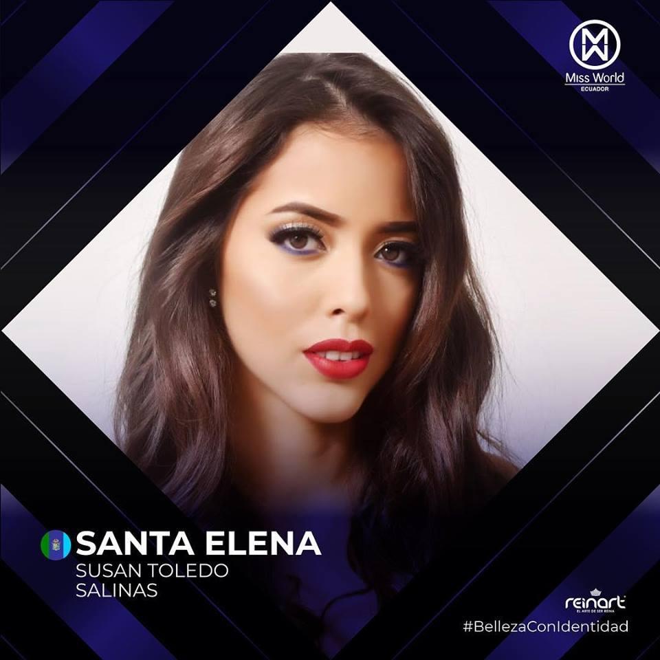 candidatas a miss world ecuador 2019. final: 27 de abril. - Página 2 Zy2szjob