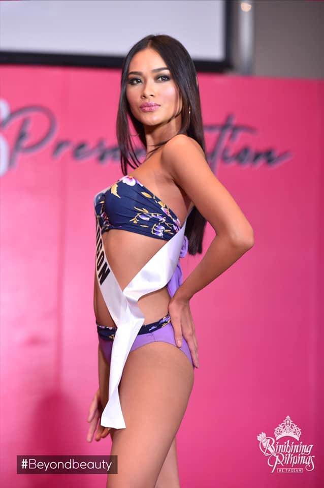 candidatas a binibining pilipinas 2019 em swimsuit (durante press conference). - Página 2 2klp3fjr