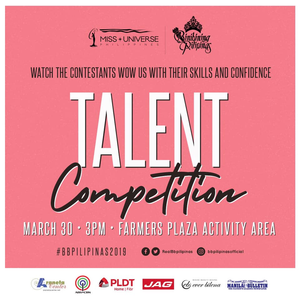 talent competition de candidatas a binibining pilipinas 2019. Yf3j8bs5