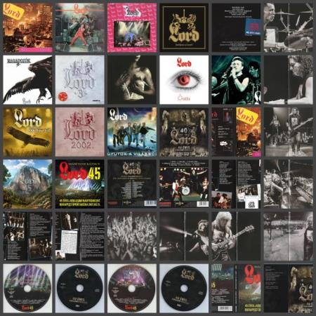 Lord - Discography (1985-2018) FLAC