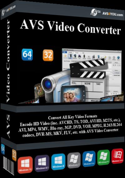 AVS Video Converter v11.0.3.639 + Portable