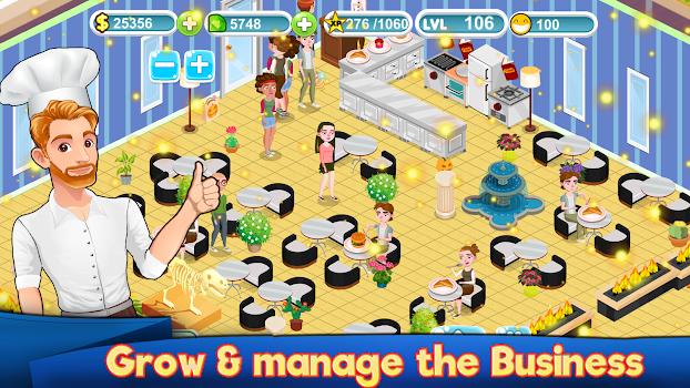 🎮 SB MOD APK - Cafe Management my Restaurant Business Story Food