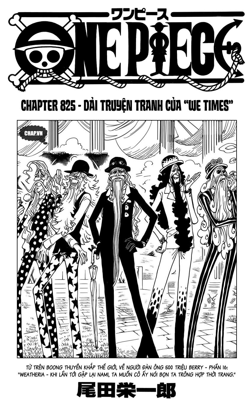 One Piece Chap 825 - Truyen.Chap.VN
