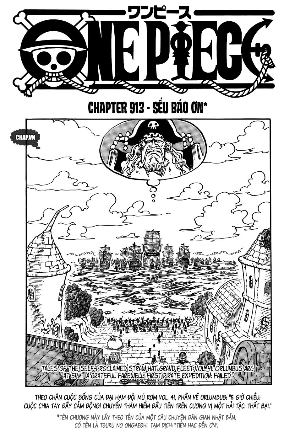One Piece Chap 913 - Truyen.Chap.VN