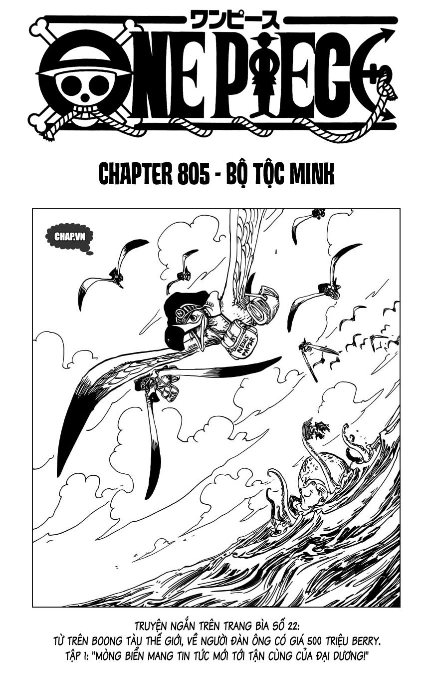 One Piece Chap 805 - Truyen.Chap.VN