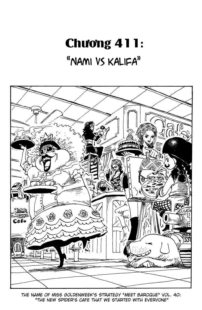 One Piece Chap 411 - Truyen.Chap.VN