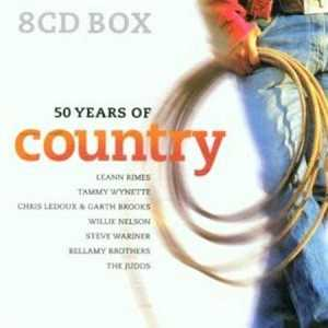 50 Years Of Country - Hits from the 40s, 50s, 60s, 70s